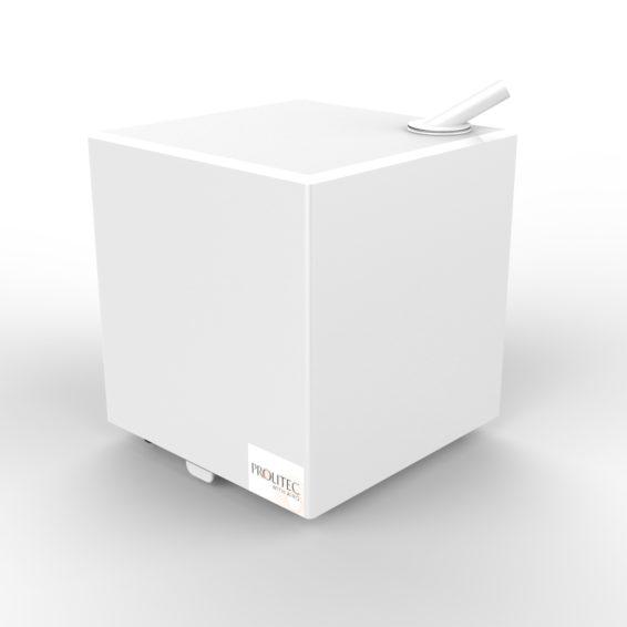 AirQ160 biały do aromatyzacji małych pomieszczeń.